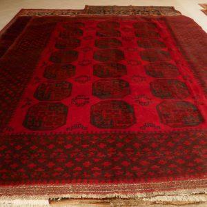 tappeto bukhara rosso grande