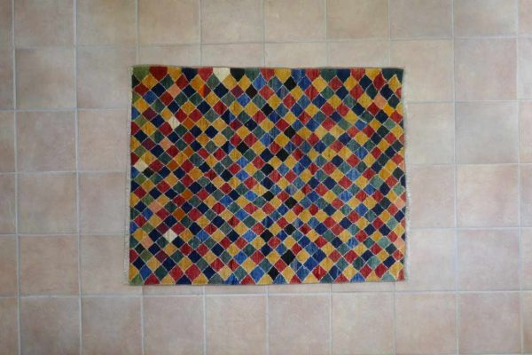tappeto Gabbeh Gashgai arlecchino
