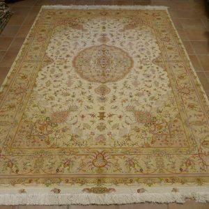 tappeto Tabriz 60 Raj,ExtraFine Misto Seta colori pastelli