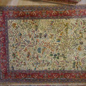 tappeto Tabriz Extrafine fondo avorio