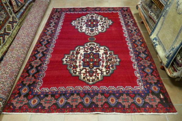 tappeto Afshari rosso Persia