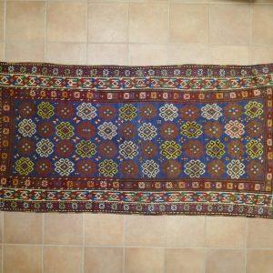 tappeto caucaso karabagh antico azzurro