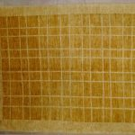 tappeto moderno giallo