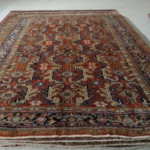tappeto Heriz Antico senza medaglione 3