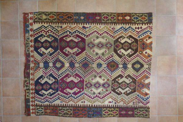Antico Turchia Kilim 212x175