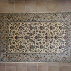 tappeto Isfahan Misto Seta,Extra Fine da salotto