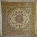 tappeto Isfahan Extrafine Misto Seta quadrato