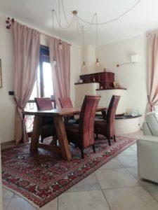 Sala-da-pranzo-con-il-tappeto-Bakhtiari