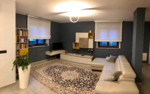 Salone-moderno-con-il-tappeto-Nain