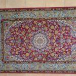 tappeto Isfahan Misto Seta Extrafine