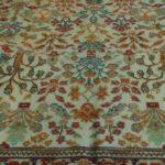 Tappeto Decorativo floreale fondo avorio