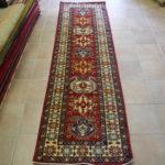 passatoia Uzbek color rosso