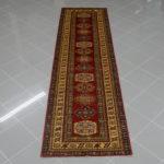 passatoia uzbek kazak color rosso