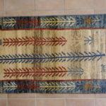 tappeto Gabbeh Gashghai piccolo fondo avorio