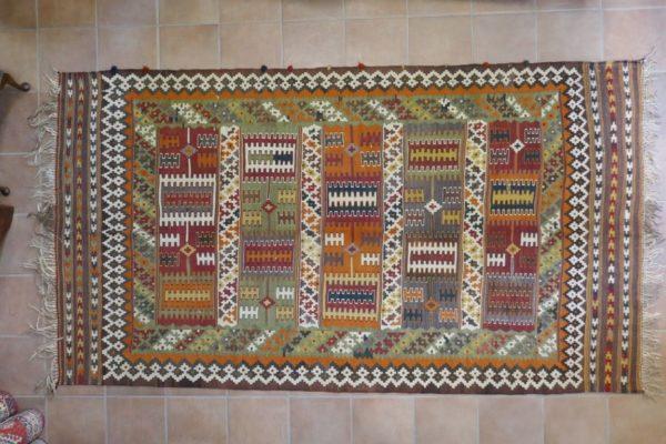 antico kilim gashgai colorato