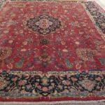 tappeto kirman grande da salotto color rosso