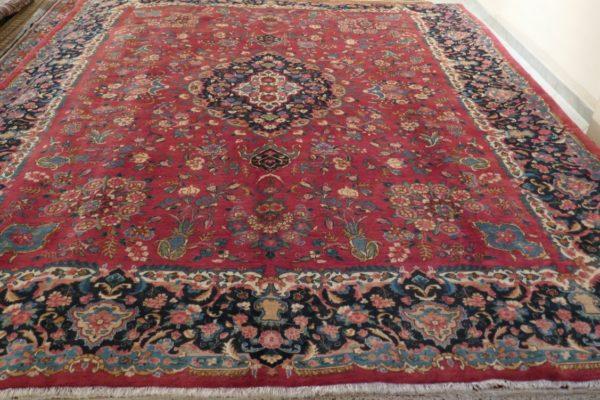tappeto grande rosso