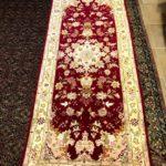 fondoletto Tabriz 60 raj color vinaccio