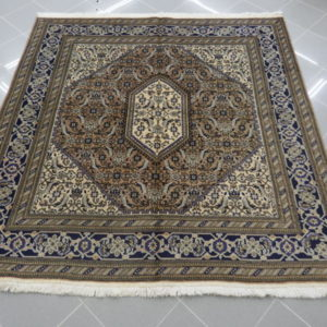 tappeti tabriz quadrato color marrone beige