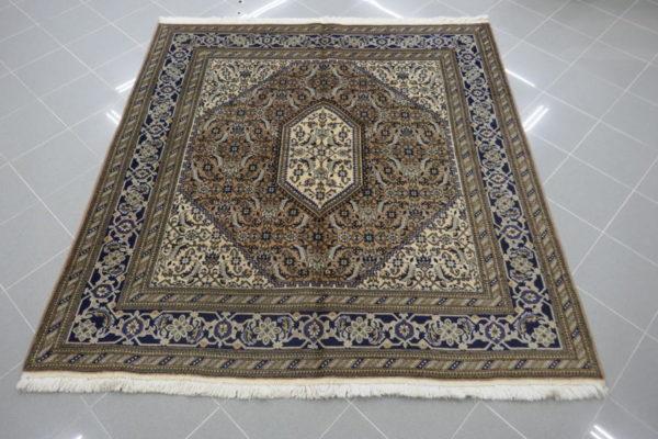 tappeti tabriz quadrato color marrone beige