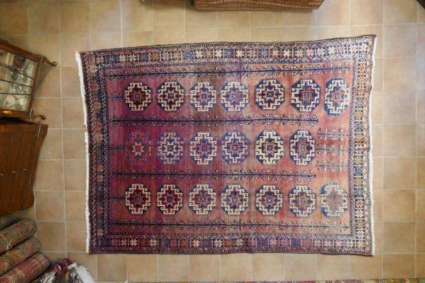 Antico tappeto Shahsavan Mogan