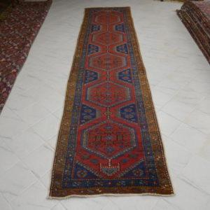 tappeto passatoia antica malayer lunga
