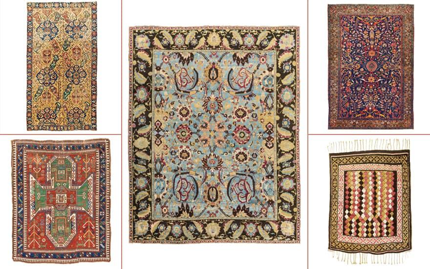 Guida alla raccolta: tappeti e tappeti orientali (Tappeti Antichi,Fonte: Christie's)