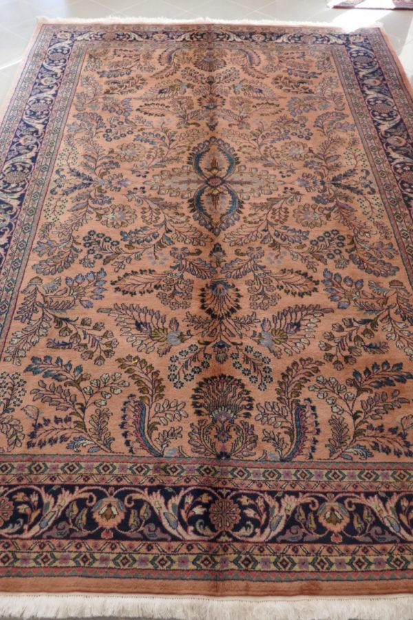 tappeto color salmone