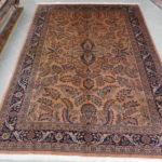 tappeto indo saruk color salmone
