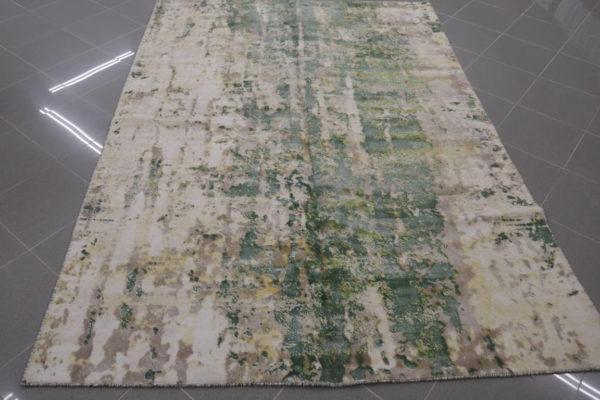 tappeto moderno verde
