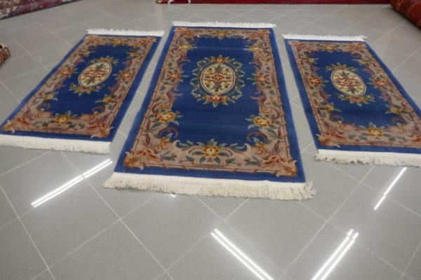 Tris cinesi blu