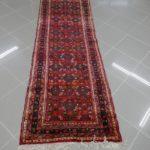 tappeto hamadan fondo letto rosso