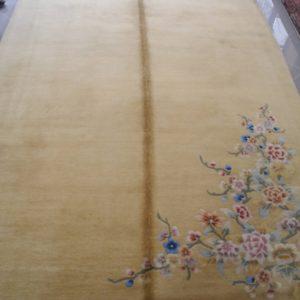 tappeto beige cinese