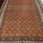 tappeto antico malayer color salmone chiaro