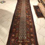 tappeto passatoia shahsavan antica