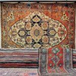 antico tappeto Serapi