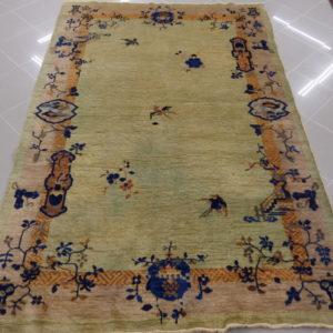 tappeto cinese fondo verde