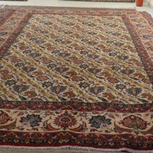 tappeto grande senza medaglione a fondo avorio