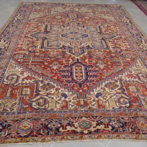 tappeto elegante Heriz antico