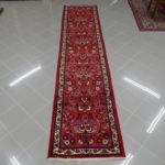 passatoia saruk rossa lunga 4 metri