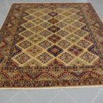 tappeto kazk quadrato chiaro