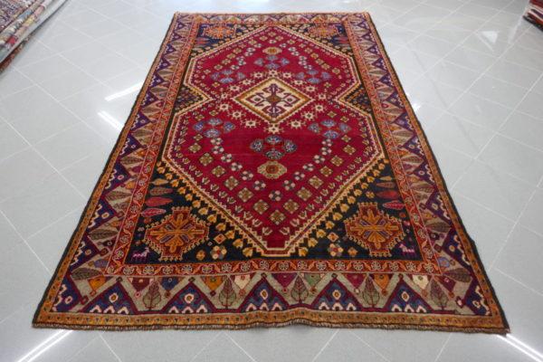 tappeto gashgai rosso