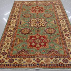 tappeto uzbek verde