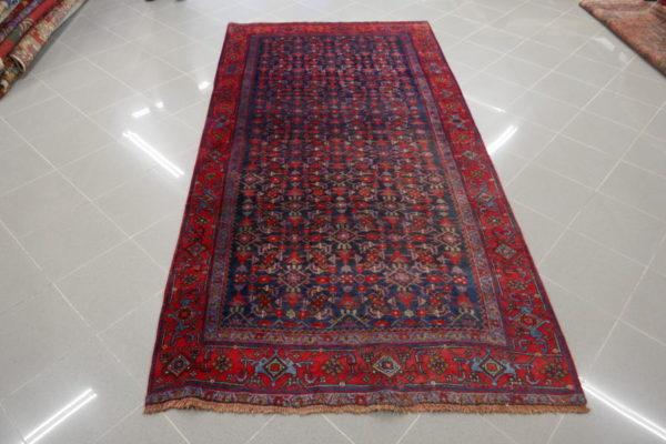 tappeto bijar herati rosso e blu