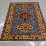 tappeto uzbek azzurro