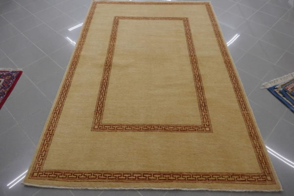 tappeto gabbeh moderno beige