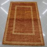 tappeto moderno marrone