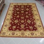 tappeto ziegler fondo rosso