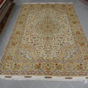 tappeto tabriz 60 raj colori pastelli