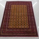 tappeto bukhara fondo giallo